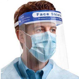 """1 Reusable Safety Face Shield (13""""x 8.75"""")"""